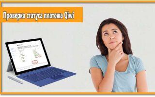 Как проверить статус платежа Qiwi