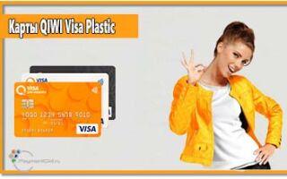 Все о банковских картах QIWI Visa Plastic