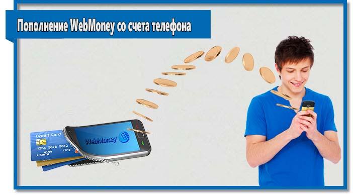 Многим пользователям будет удобно пополнить WebMoney со счета телефона, однако у данного варианта есть недостаток - большая комиссия.