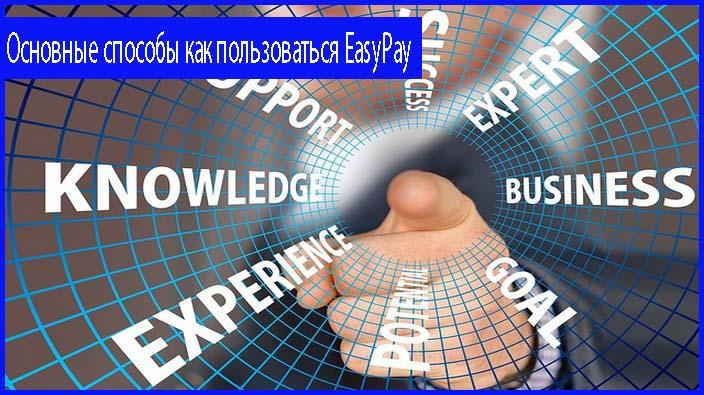 картинка что такое EasyPay и варианты использования